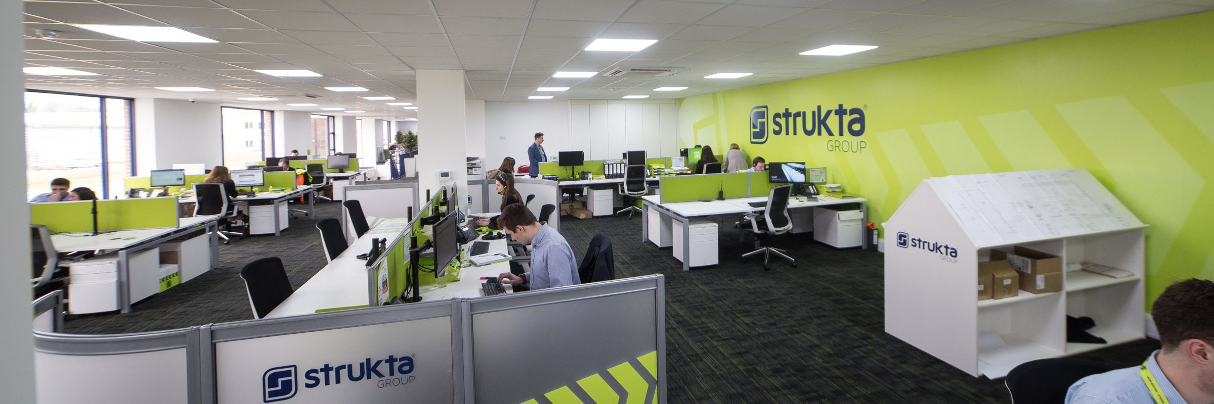 Delivering a 'wow' workspace for Strukta