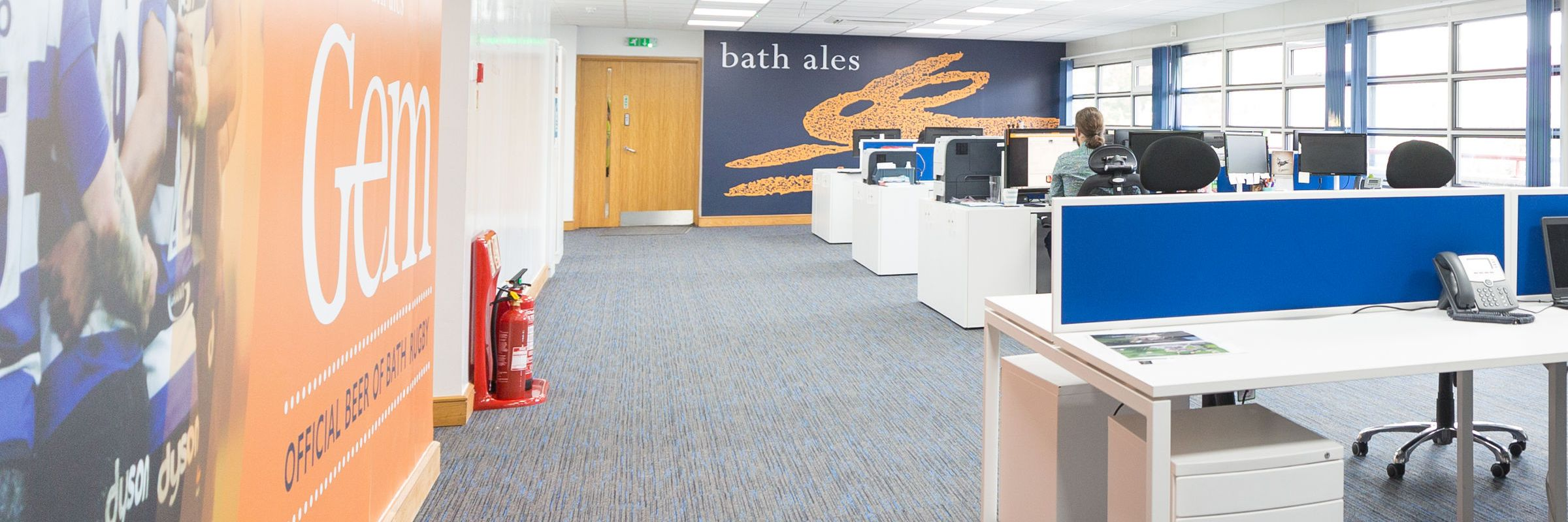 Inspiring productivity: office refurbishment for St Austell Brewery
