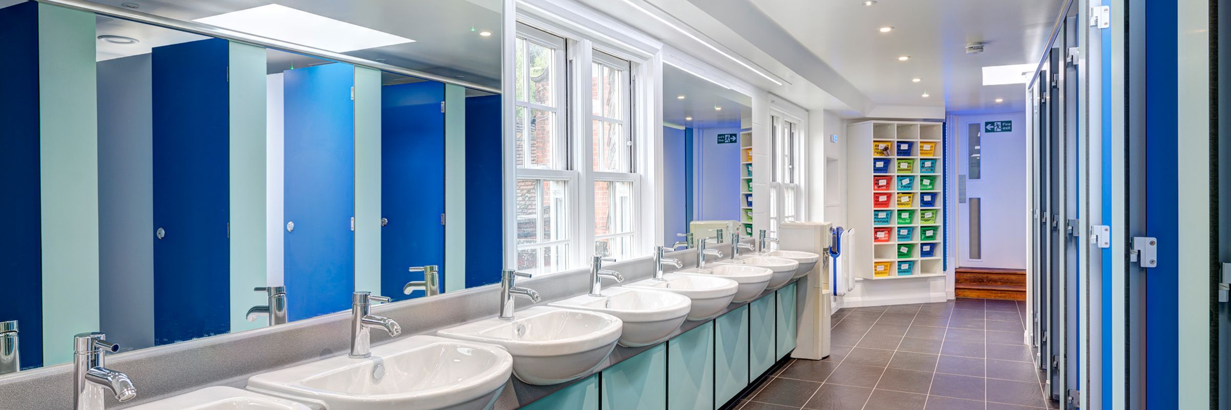 Prestigious washroom fit-out for St Johns Beaumont