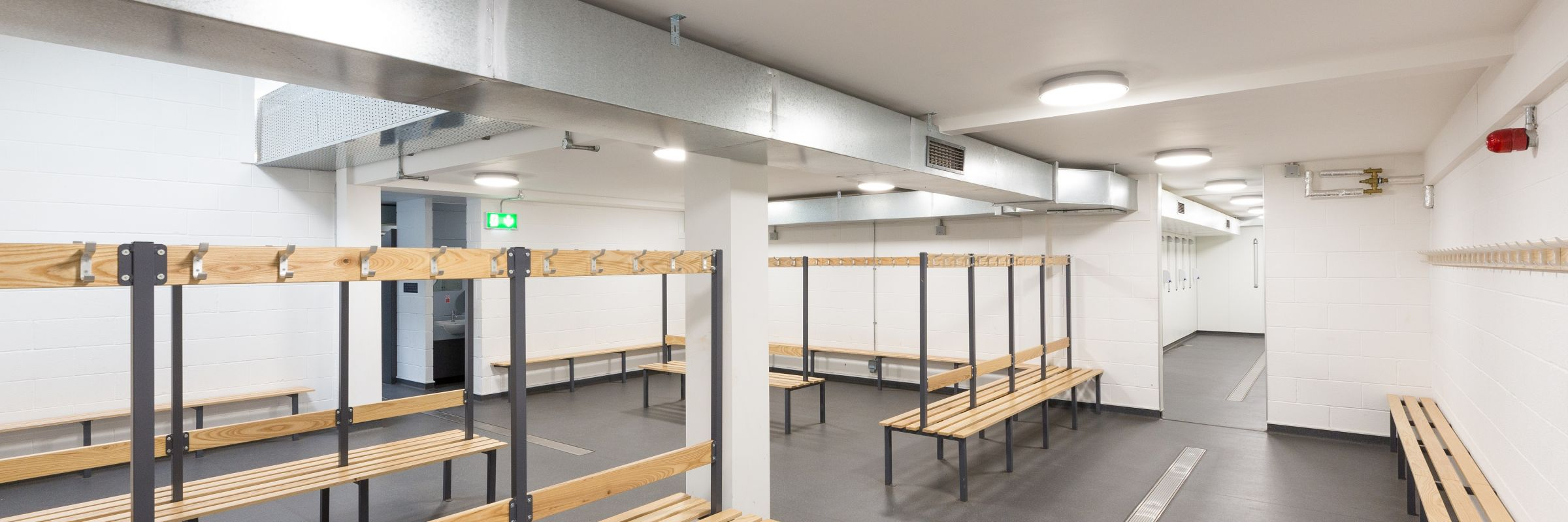 Smart, durable refit for Exeter School's changing room