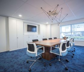 Blue Frontier meeting room
