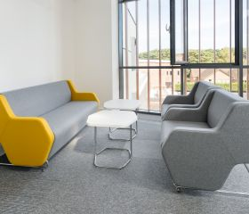 Hex soft seating from Poland